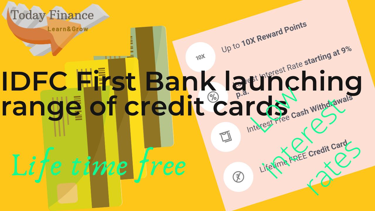 IDFC First Bank credit card
